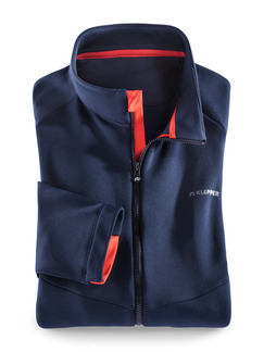 Klepper Active-Fleecejacke Marine Detail 1
