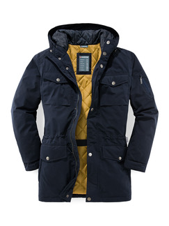 Klepper Long-Parka Marine Detail 1