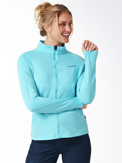 Klepper Activefleece-Jacke Aqua Detail 1