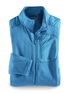 Klepper Microfleece-Jacke Blau Detail 1
