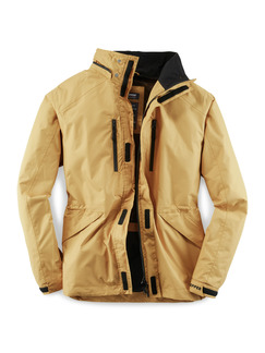 Klepper Jacke Aquastop Curry Detail 1