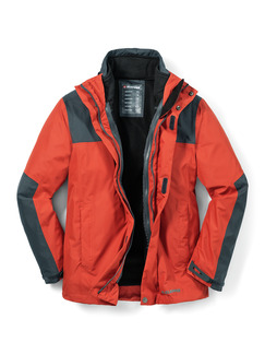 Klepper Aquastop 2-in-1 Jacke Terra Detail 1