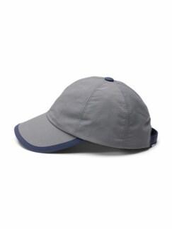 Baseballcap Grau Detail 1