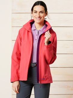 Klepper Flexjacke Aquastop Koralle Detail 1