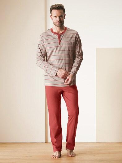 Baumwoll-Schlafanzug Savanne