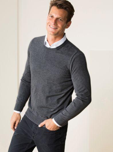 Merino-Seide-Pullover