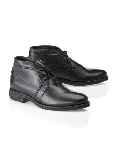 Derby Lammfell-Boot