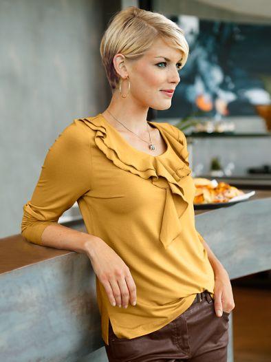 Rüschen-Shirt Trendline