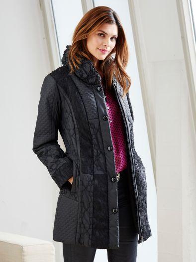 Exquisit Mantel Lady in Black