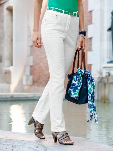 5 Pocket Jeans Urlaubsreif