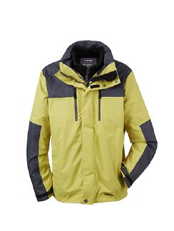 Klepper Aquastop 2in1 Jacke Lime Detail 7
