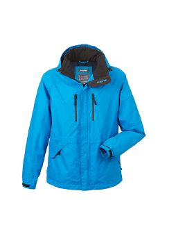 Klepper Jacke Aquastop Atlasblau Detail 5