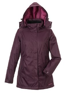 Klepper Aquastopjacke 2 in 1  Brombeere Detail 4