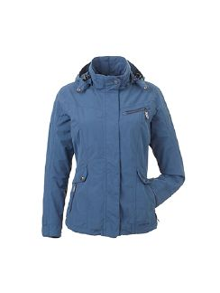 Klepper Aquastopjacke Cotton Touch Rauchblau Detail 5